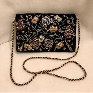 ✨EUC Vintage Velvet Bag